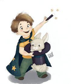 Abracadabra  Kids Illustration by S.K.Y. van der Wel