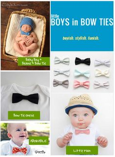 boys in bow ties = adorableness! #boystyle