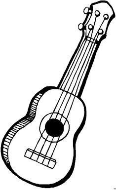 22 Musical Themed Colouring Pages For Kids