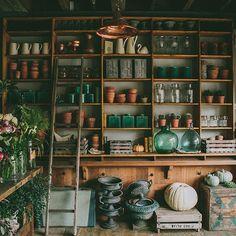 一间素朴复古的花店 | 素铺乐物