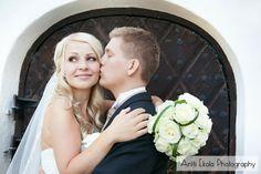 Hääkuvaus Sannäsin Kartano - Anne ja Sami - Valokuvaaja Antti Ekola / wedding portrait Porvoo finland