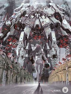 An artist who goes by the name Boomslank created this spectacularly epic anime-style art inspired by Gundam Unicorn. Arte Gundam, Gundam Art, Gundam Exia, Design Graphique, Art Graphique, Bd Comics, Anime Comics, Science Art, Science Fiction