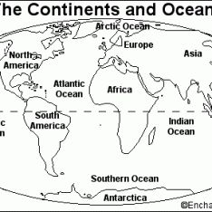 continent coloring pages Google Search School Social Studies