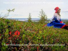 Buori riikkaidgaskasaš máilmmi álgoálbmogiid beaivvi! | Happy International Day of the World's #IndigenousPeoples!