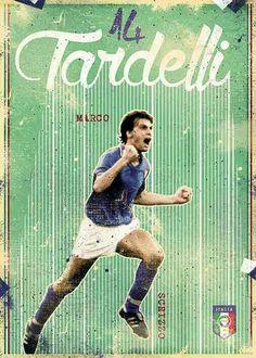 Azzurri Italia on Behance Soccer Art, Football Art, World Football, Soccer Games, Vintage Football, Italy National Football Team, Tottenham Hotspur Fc, Soccer Boots, International Football