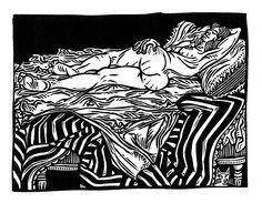 Ilustración Grandbois. Alfredo Benavidez Bedoya