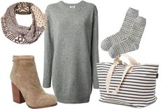 3 Outfits To Up Your Travel Game #Refinery29 <<<my ideal fall outfit