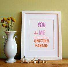 Unicorn Parade