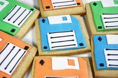 old school computer disks!