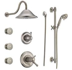 view the delta tempassure 17t series shower system with integrated