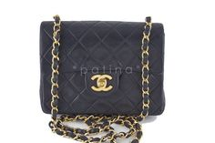 Chanel | Chanel Black Classic Quilted S...