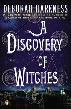 Recommended by: Keisa Arceneaux (Main Branch)- A Discovery of Witches (All Souls Trilogy #1) by Deborah Harkness
