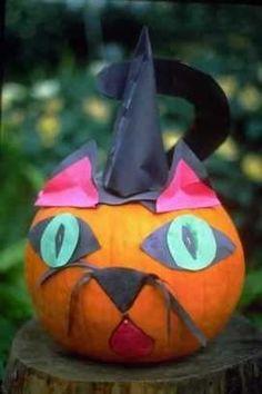 kids pumpkin decorating - Google Search