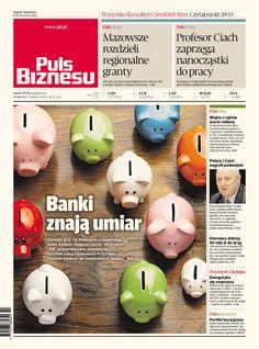 Puls Biznesu Polish Business Newspaper 07-04-2015 Art Director Tomasz Młynarski