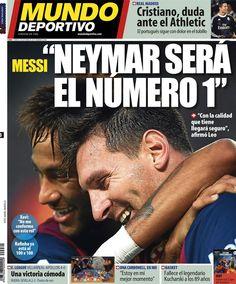 Portada MD 03/10/14 #Messi #Neymar #FCBarcelona #Barça #Barcelona #FCB #fcblive #SomUnEquip #ViscaBarça #SomosBarça #Culè #igersFCB #CanBarça #Catalunya