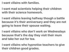 Villains with lives! Creative Writing Prompts, Book Writing Tips, Writing Words, Writing Quotes, Writing Resources, Writing Help, Writing Ideas, Dialogue Prompts, Story Prompts