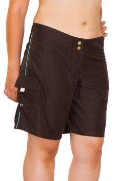 Point Conception Juniors Solid MCH Long Hip Riding Boardshort 5 Chocolate -- You can get more details by clicking on the affiliate link Amazon.com.