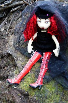 Teresa's doll seated