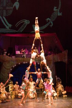 Cirque Zuma Zuma African Acrobats, Tuesday, April 30 at 7:00pm on the MainStage