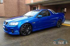 2010 Holden Ute VE Series II SS V Redline #car