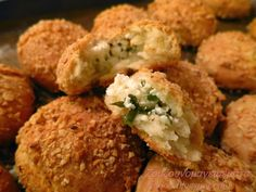Greek Appetizers, Savory Muffins, Cheese Snacks, Good Food, Yummy Food, Party Buffet, Group Meals, Greek Recipes, Finger Foods