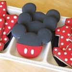 Mickey Mouse 1st Birthday Cookies
