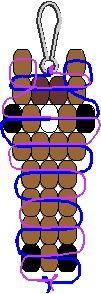 Pony bead horse pattern