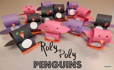 Tippytoe Crafts: Roly Poly Penguins