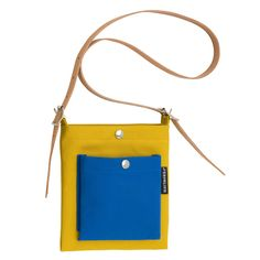 Pasi bag, yellow-blue