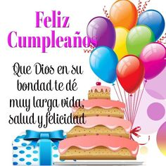 60 ideas birthday quotes in spanish happy for 2019 Spanish Birthday Wishes, Happy Birthday Wishes Cards, Happy Birthday Celebration, Happy Birthday Pictures, Happy Birthday Quotes, Happy B Day, Spanish Quotes, Birthdays, Facebook