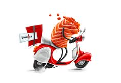 Delivery :) on Behance ★ Find more at http://www.pinterest.com/competing/