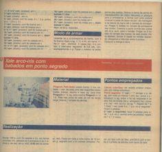 Mont Tricot Bebê nº 92 Receita da Capa Macacão tricotado em Listras Coloridas Revista online, Mon Tricot , Tr...