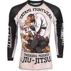 Tatami Thinking Monkey Compression Shirt