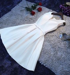 Simple Satin Short Cheap Formal Dresses, Cute Homecoming Dresses, Beautiful Party Dress In Stock on Luulla Cute Homecoming Dresses, Prom Dresses, Mini Dresses, Cotton Dresses, Style Marilyn Monroe, Muslim Evening Dresses, Beautiful Party Dresses, Cheap Formal Dresses, Ceremony Dresses