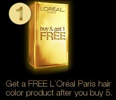 FREE LOreal Products for Gold Rewards Members = FREE Box of Hair Color | Free Samples Without Surveys