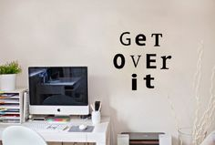 Wall Vinyl Sticker Decal Art Design Inspirational Quote Get Oveer It Wall Lettering Room Nice Picture Decor Hall Wall Chu979 Thumbs up decals,http://www.amazon.com/dp/B00K1BLMT6/ref=cm_sw_r_pi_dp_e8SHtb1RE363H22R