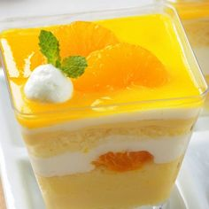 Prepare this Mandarin Orange Trifle when you are looking for a light refreshing dessert.