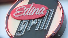 Edina Grill Edina, Minnesota Awesome Diner Awesome Burgers Featuring Mustard Girl Mustards on Tabletops!