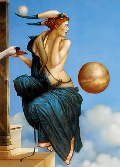 Painting by Michael Parkes (Part 2)