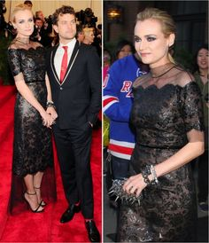 Diane Kruger in the MET Ball 2013