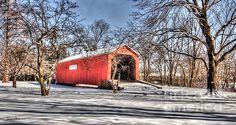 South Perkasie Covered Bridge in Lenape Park