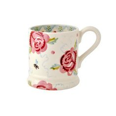 Emma Bridgewater Half Pint Mug Rose and Bee - 2014 Design – Coln Gallery