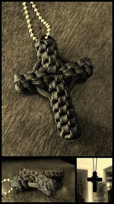 Paracord Circle Cross. //  ♡ THIS IS BEAUTIFUL!!!  CAN'T WAIT TO TRY IT!  ♥A