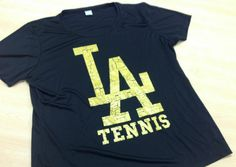Lincoln Abes girls tennis T-shirt