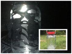 Lighthouse Solar Mason Jar  Lighthouse Lantern by CraftyToucanShop