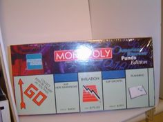 American Express Monopoly Edition Board Game