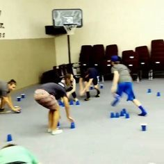 #cupsanddowns is a game where one team tries to turn all the cups upside down and the other team tries to turn them right side up. At the end of the time, whoever has the most their way wins. Simple, inexpensive game that could bring a lot of energy.