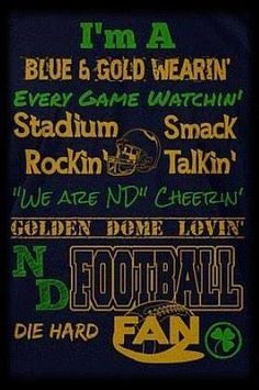 """Decorate your classroom or bedroom with a personalized accent that shows your love of learning. This quality Colorful Teacher Canvas Wall Art displays your name above a colorful and motivational """"teacher"""" acronym that will brighten everyone's day. Nd Football, College Football Teams, Notre Dame Football, Football Names, Football Season, Football Shirts, Irish Fans, Go Irish, Denver Broncos"""