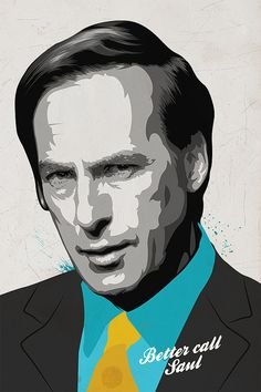 Fine Art Pop Art Art Print Better Call Saul by CiaranMonaghan