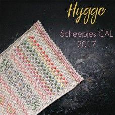 77 Beste Afbeeldingen Van Haken Hygge Cal Scheepjes 2017 Crochet